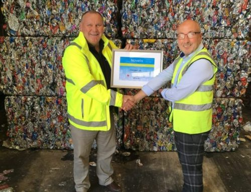 Quality award for social enterprise organisation Wastesavers Newport