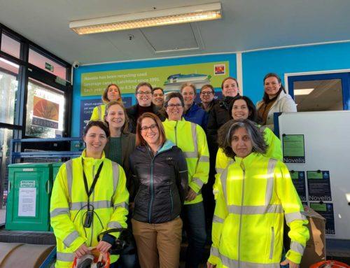 Women in Novelis University Attendees in the UK