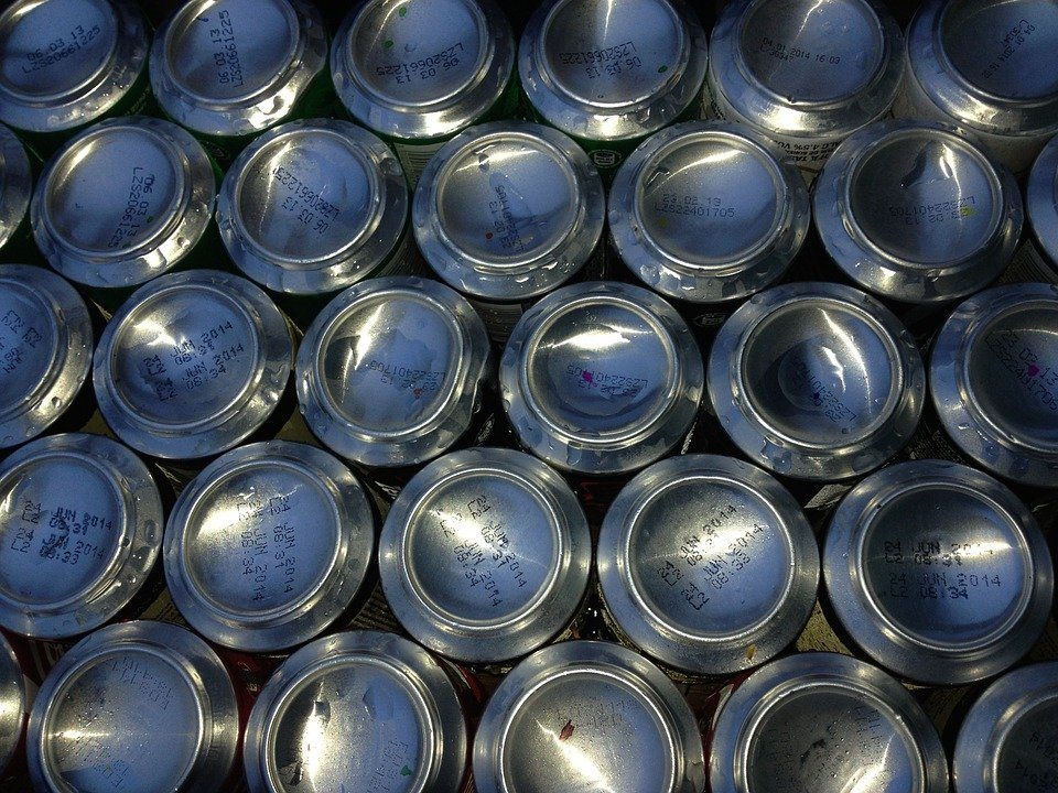 Aluminium can recycling increases